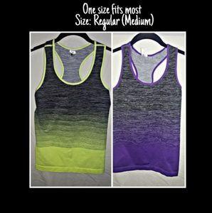 Tops - ♾Work Out Racer Back Tops